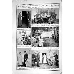 1920 MARY ROSE HAYMARKET THEATRE COMPTON STEVENSON ROMANCE
