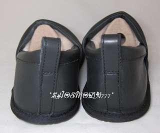 UGG Australia Sheldon Mens Slippers Shoes Leather Sheepskin US 8 9 10