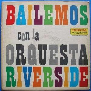 Con La Orquesta Riverside [Vinyl LP] Orquesta Riverside Music