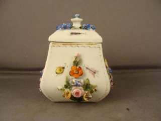 ANTIQUE FRENCH JOSEPH GASPARD ROBERT MINI SUGAR BOWL