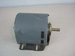 GE General Electric Motor Stock# 4349   1725 RPM, 1/6 HP, 115V