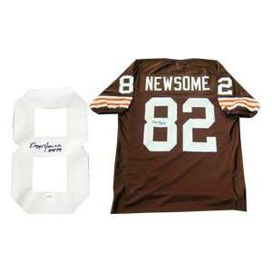 Ozzie Newsome HOF 99 Autographed Cleveland Browns Jersey
