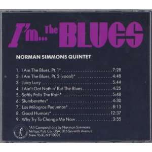 Im the Blues: Norman Simmons, Jimmy Owens, Vernel