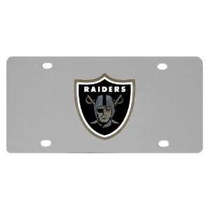 Oakland Raiders Logo Plate: Sports & Outdoors