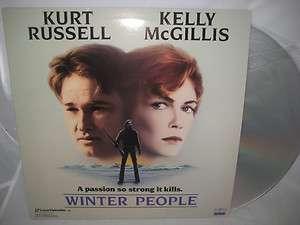 WINTER PEOPLE LASER DISC Kurt Russell Kelly McGillis 042995772661