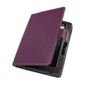 Up Purple Leather Case (Book Style) for Nextbook Next 6 Tablet