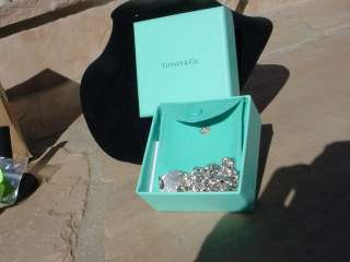 STERLING SILVER~RETURN TO TIFFANY NECKLACE 15.5 W BOX