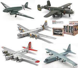 NEW RAY DOUBLE ENGINE PLANES MODEL KIT CASE OF 12 20107