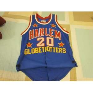 1990s Harlem Globetrotters Game Used Jersey T. Brown   NFL Jerseys