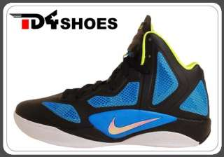 Nike Zoom Hyperfuse 2011 X Black Luster Photo Blue New 474241003