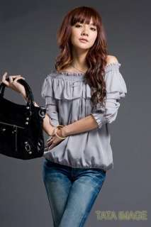 FREE S/H Womens Ladies Sexy MOD Chiffon Top Blouse