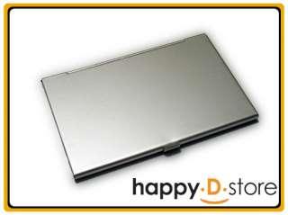 Aluminum Business Card Holder Slim Name Case Credit