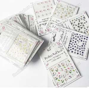 Design Color 3D Nail Art Sticker Tip Decal Different Designs
