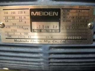 NACHI HYDRAULIC UNIT S 3071 NACHI PUMP MOTOR LTF70 NR