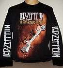 Led Zeppelin Song Remains long sleeve T Shirt Size XL