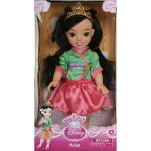 My First Disney Princess Mulan Toddler Baby Doll 14 Signature Costume