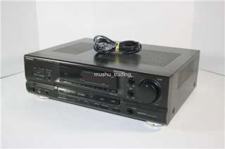 TECHNICS SA GX290 HOME THEATER AM FM STEREO RECEIVER SAGX290