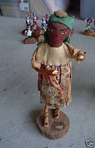 Unique Vintage Cloth Black Woman Haiti Ethnic Doll