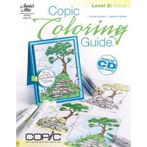 Book   Copic Coloring Guide   Level 2 Nature Arts, Crafts & Sewing