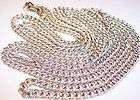VINTAGE MADE IN GERMANY LIGHT WEIGHT LONG 55 FANCY CHAIN LINK
