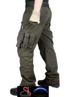 ClotheSpace Mens Military Battle Cargo Pants MP44 W38