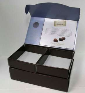 Harry & David Empty Chocolate Candy Gift Storage Box Tiered Lidded