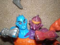 Lot 10 Original He Man Action Figures Masters of the Universe 1980s