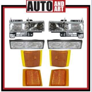 Headlight Signal Marker Lights SAE DOT Chevrolet Pickup Truck