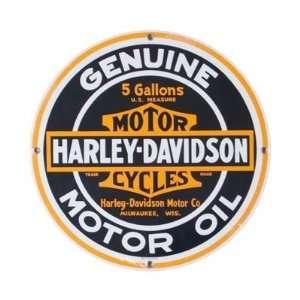 Tin Sign   Motor Oil   Harley Davidson Automotive