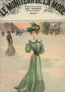 ORIGINAL MONIT DE LA MODE March 28,1903 |