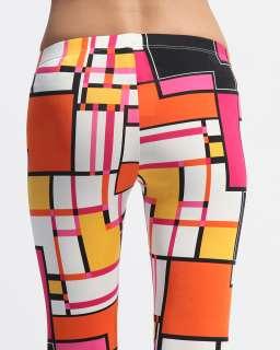 MOGAN Multi Color Print Stretch FULL LONG LEGGINGS Footless TIGHTS