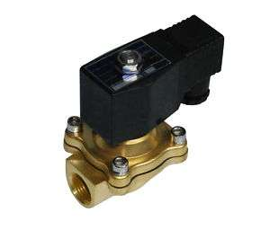 Electric Solenoid Valve 12 VDC HIGH TEMPERATURE