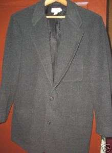 Crew gray wool blend dress jacket blazer womens M MNT
