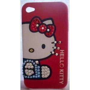 HELLO KITTY IPHONE 3G CASE WITH SWAROVSKI CRYSTAL BLING
