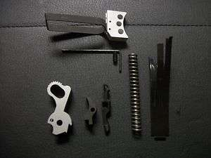 Colt 1911 Trigger job Action Kit   with Adjustable Trigger |