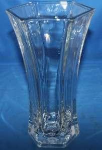 Vintage Vase Hoosier Glass 4041 Clear Vessel Flower