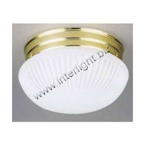 WESTINGHOUSE 66329 1 LT. FLUSH, POLISHED BRASS FINISH