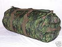 Canadian Army Digital Parachute Duffle Bag