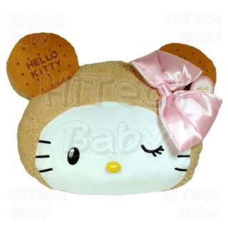 Sanrio HELLO KITTY Cookie Bear Soft Plush Throw Pillow Cushion 18