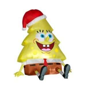 2011 3.5 Nickelodeon SpongeBob Squarepants Christmas Tree