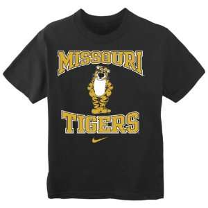 Missouri Tigers Kids 4 7 Nike Mascot T Shirt Sports