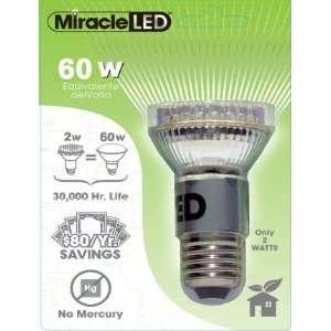 60W LED COOL White Light Bulb (10 pack)