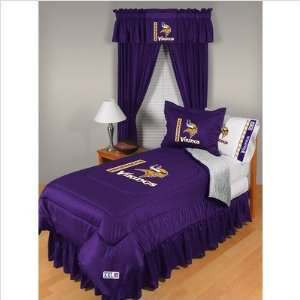 Bundle 71 Minnesota Vikings Comforter   Full/Queen  Home