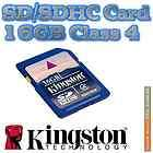 SD 16 GB 16GB SDHC Class 4 Secure Flash Memory Card Digital Camera