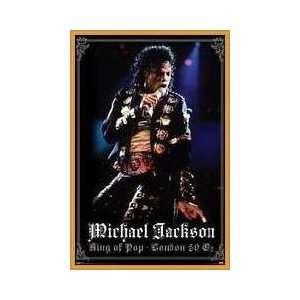 Michael Jackson London Framed Poster
