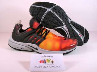 NEW OG 2001 NIKE AIR PRESTO LIGHTNING MAX ORANGE MEDIUM
