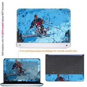 Protective decal sticker for Dell Inspiron 1012 case cover 10mini10 51