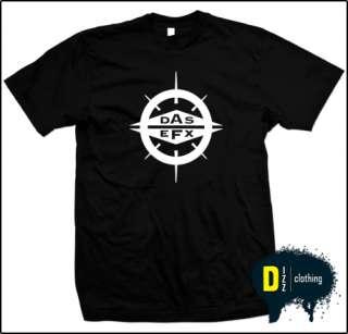 DAS EFX Vintage Premier Hip Hop/Rap T Shirt of S,M,L,XL