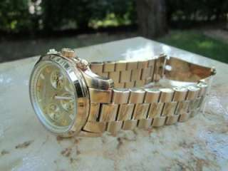 Kors Womens Runway Gold tone Chronograph Watch MK5055 m22