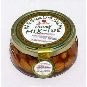 Honey Mix Ins   3 Jars   Whole Almonds in Wild Blackberry Honey 8oz
